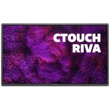 "CTOUCH Riva 163,9 cm (64.5"") 3840 x 2160 Pixeles Multi-touch Negro (Espera 4 dias) en Huesoi"