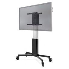 """CTOUCH 10080251 soporte de pie para pantalla plana 2,18 m (86"""") Soporte del panel plano y fijo Aluminio, Negro (Espera 4 dias) en Huesoi"""