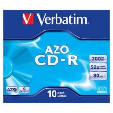 CD VERBATIM SUPERAZO 700MB 10U en Huesoi