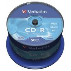 CD VERBATIM DATALIFE 700MB 50U en Huesoi
