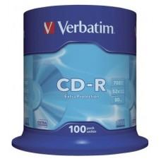 CD VERBATIM DATALIFE 700MB 100U en Huesoi