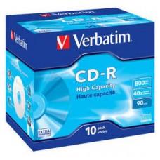 CD VERBATIM DATALIFE 800MB 10U en Huesoi