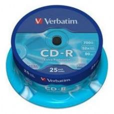 CD VERBATIM DATALIFE 700MB 25U en Huesoi
