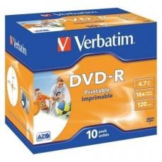 DVD-R VERBATIM 4.7GB 10U IMP en Huesoi