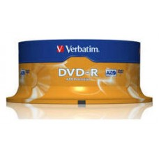 DVD-R VERBATIM 4.7GB 25U en Huesoi
