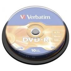 DVD-R VERBATIM 4.7GB 10U en Huesoi