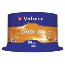 DVD-R VERBATIM 4.7GB 50U en Huesoi