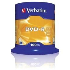 DVD-R VERBATIM 4.7GB 100U en Huesoi