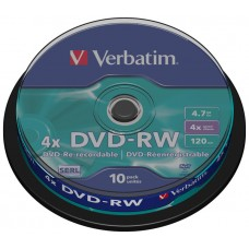 DVD-R VERBATIMW 4.7GB 10U en Huesoi