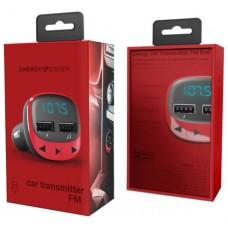 Energy sistem Car Transmitter FM Red (microSD,MP3) en Huesoi