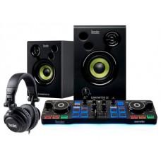 Hercules DJStarter Kit controlador dj Negro (Espera 4 dias) en Huesoi