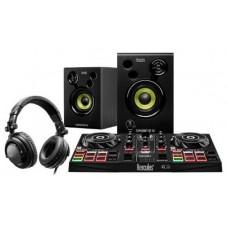 Hercules DJLearning Kit controlador dj Negro DVS (Sistema de vinilo digital) para scratch digital (Espera 4 dias) en Huesoi