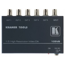 Kramer Electronics 105VB amplificador de línea de video 400 MHz Negro (Espera 4 dias) en Huesoi