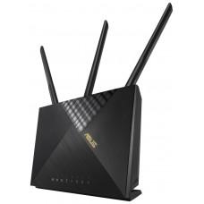 ASUS 4G-AX56 router inalámbrico Gigabit Ethernet Doble banda (2,4 GHz / 5 GHz) 3G Negro (Espera 4 dias) en Huesoi