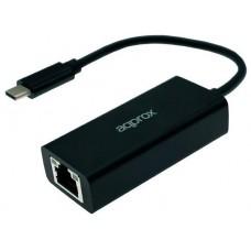 ADAPTADOR DE RED GIGALAN A USB TYPE A APPROX APPC43 en Huesoi