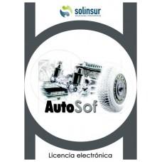 SOFTWARE AUTOSOF LICENCIA ELECTRO GESTION TALLERES (Espera 4 dias) en Huesoi
