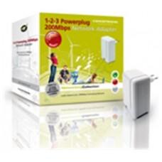 Conceptronic 1-2-3 Powerplug CPNP200 - Puente - EN, en Huesoi