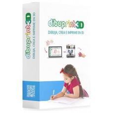 DIBUPRINT3D BASIC 1 LICENCIA (Espera 4 dias) en Huesoi