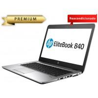 "PORTATIL HP ECOREFURB 840 G1 I7-4 GEN 8GB 240SSD 14"" W10P ECOBOX CON MALETIN en Huesoi"