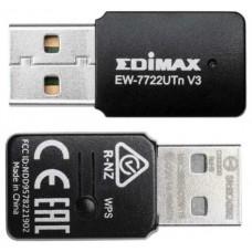 ADAPTADOR RED EDIMAX EW-7722UTNV3 USB2.0 (Espera 4 dias) en Huesoi