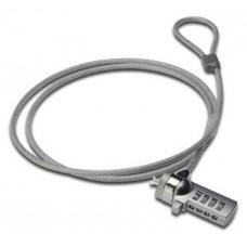 Ewent EW1241 cable antirrobo Plata 1,5 m (Espera 4 dias) en Huesoi