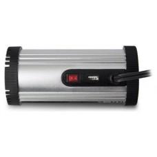 Ewent EW3990 adaptador e inversor de corriente Auto 150 W Negro, Plata (Espera 4 dias) en Huesoi