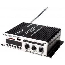 Amplificador Digital Estéreo HI-FI Portátil con USB/SD/FM/MP3 + (Espera 2 dias) en Huesoi