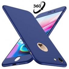 CARCASA DE 3 PIEZAS 360 º PARA IPHONE 7 EXTRA FINA CRISTAL INCLUIDO AZUL QUICKMEDIA (Espera 4 dias) en Huesoi