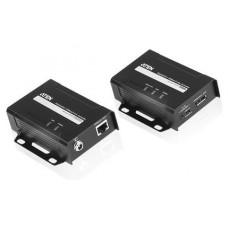 Aten VE901 extensor audio/video Transmisor y receptor de señales AV Negro (Espera 4 dias) en Huesoi